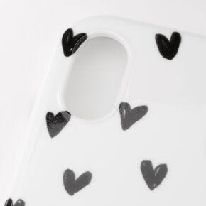 Heart Ring Holder Protective Phone Case - Fits iPhone XR,