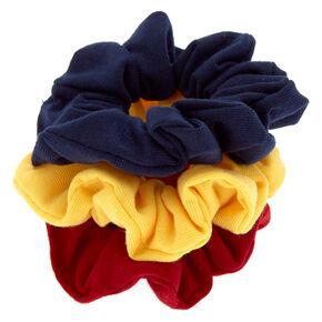 Preppy Girl Hair Scrunchies - 3 Pack,