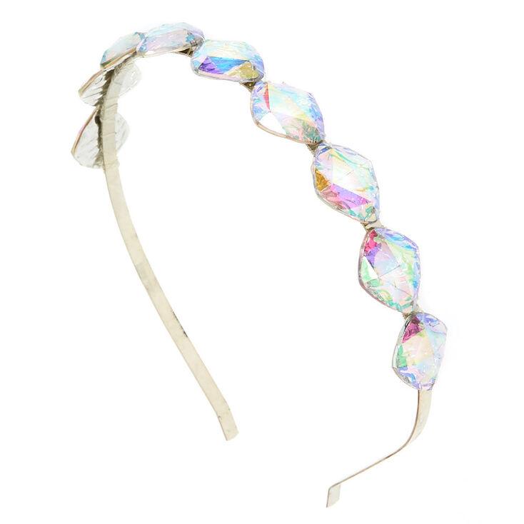 Iridescent Gem Headband,