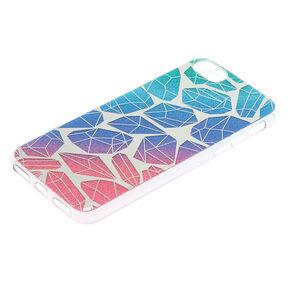Rainbow Glitter Diamonds Phone Case - Fits iPhone 6/7/8 Plus,