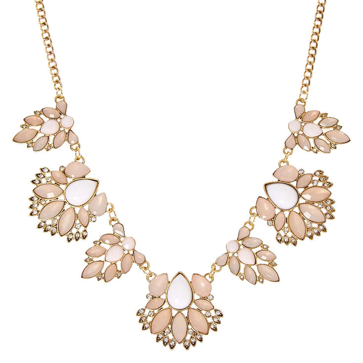 Pretty in Pink Statement Necklace,