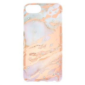 Glam Marble Phone Case - Rose God,