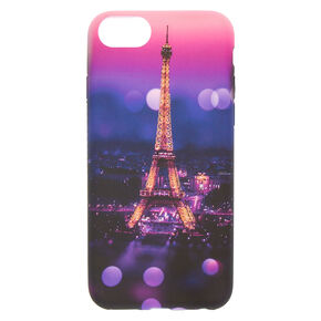 Paris Sunset Phone Case - Purple,