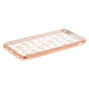 Blah Blah Blah Phone Case - Fits iPhone 6/7/8 Plus,