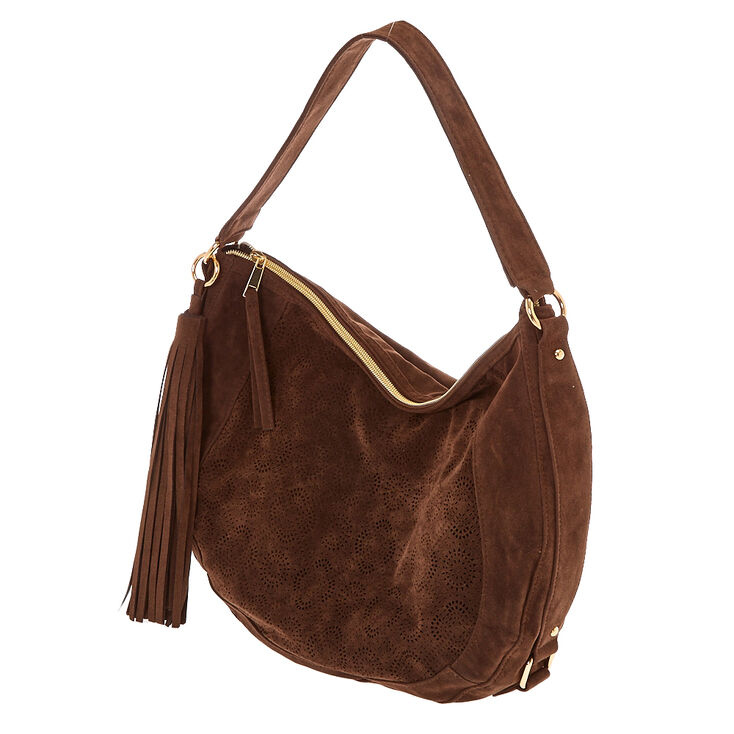 Brown Hobo Messenger Bag,