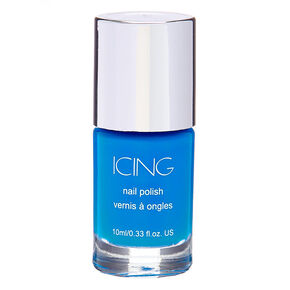 Solid Nail Polish - Neon Blue,