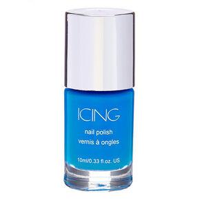 Solid Nail Polish - Neon Blue,