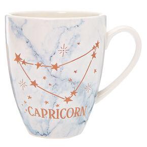 Ceramic Marble Zodiac Mug - Capricorn,