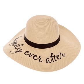 Happily Ever After Floppy Sun Hat,
