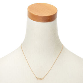 Gold Dream Pendant Necklace,