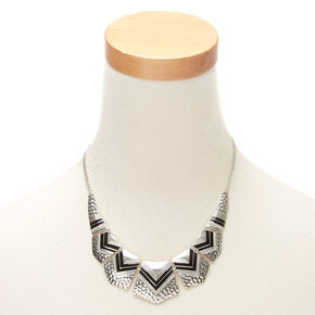 Silver Southwest Statement Necklace,