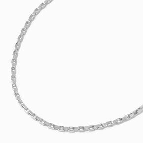 Silver Glitter Bangle Bracelets - 5 Pack,