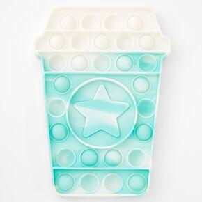 Pop Poppers Coffee Cup Fidget Toy - Blue,