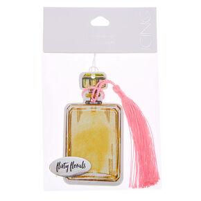 Flirty Florals Perfume Bottle Air Freshener,