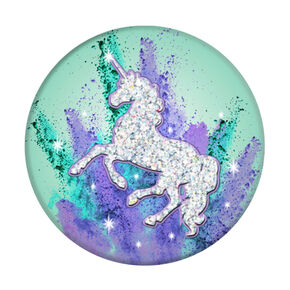 PopSockets PopGrip - Glitter Unicorn,