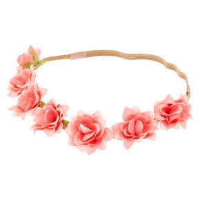 Festival Flower Crown Headwrap - Pink,