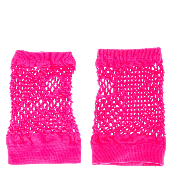 Pink Mesh Glove,