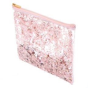 Shakey Confetti Pencil Case - Rose Gold,