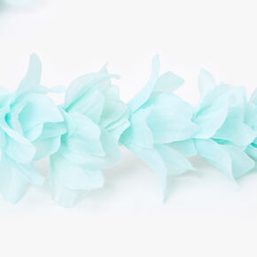 Flower Petal Braided Headwrap - Mint,