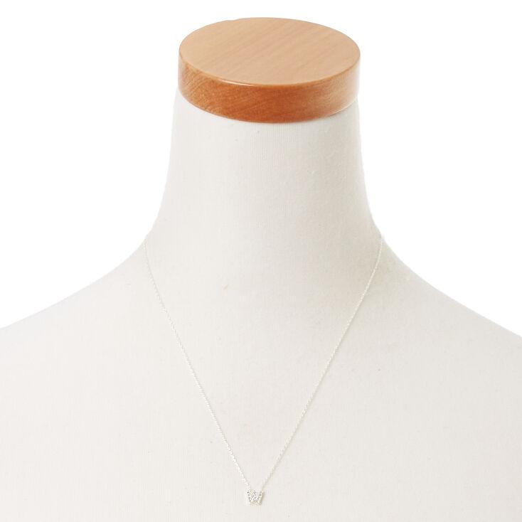 W Pendant Necklace,