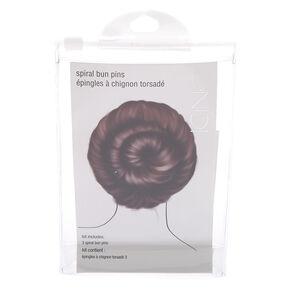 Spiral Bun Pins Hair Tool Kit,