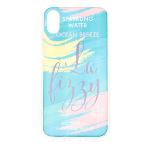 La Fizzy Sparkling Water Phone Case - Fits iPhone X/XS,