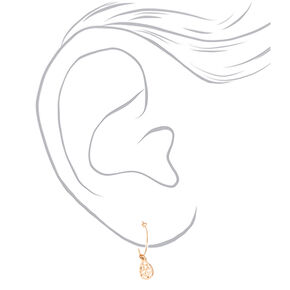 Gold Mixed Earrings - 6 Pack,
