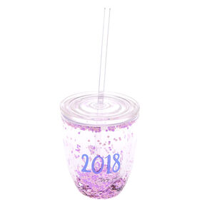 Sequin 2018 To Go Cup - Pink,