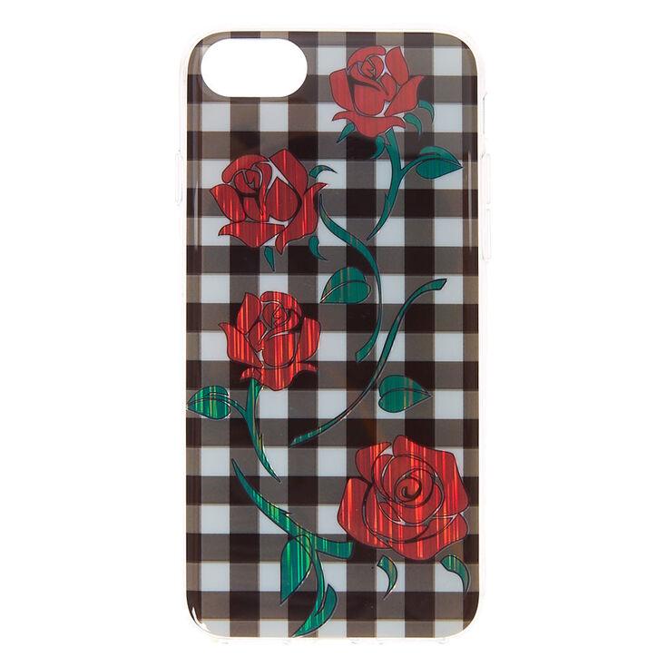 Gingham & Roses Phone Case,