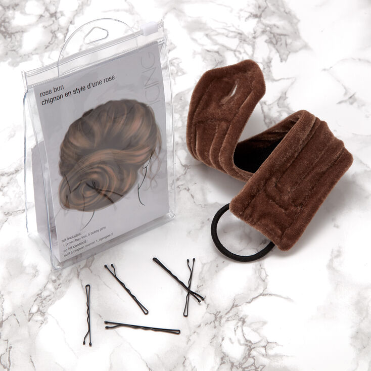 Rose Bun Hair Tools Kit,