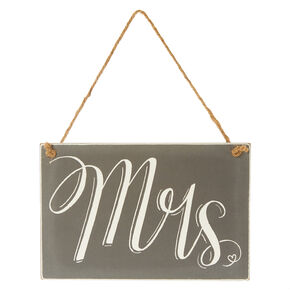 Mrs. Chalkboard Chair Sign,