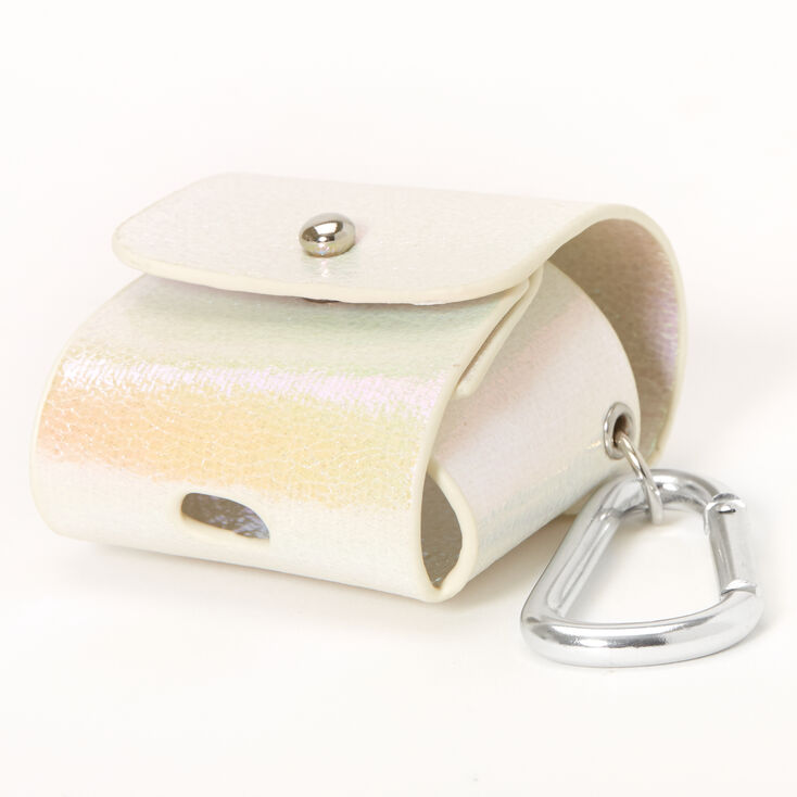 Iridescent Earbud Pouch Case Cover - Compatible With Apple AirPods,