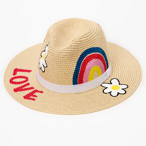 Painted Rancher Hat - Brown,