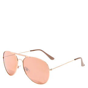 Rose Gold Aviators,
