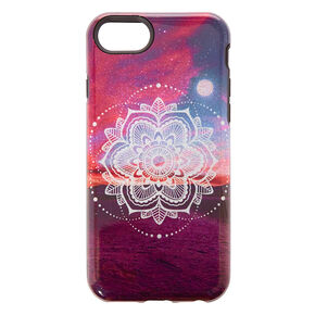 Moonlight Mandala Protective Phone Case,