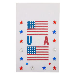American Flag Body Stickers,
