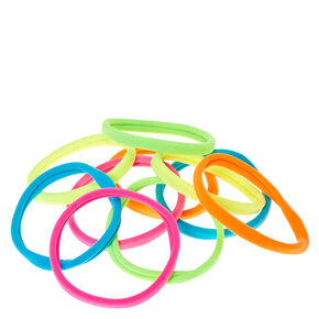 Soft Neon Hair Ties,