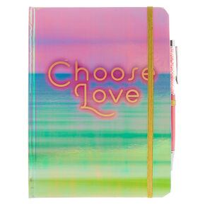 Choose Love Pastel Journal with Pen,