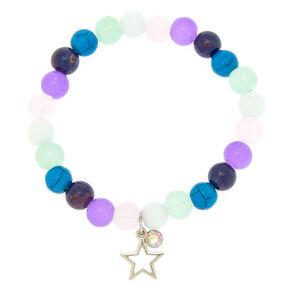 Star Marble Stretch Bracelet,