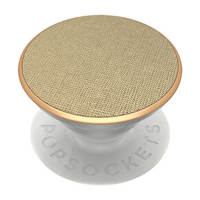 Saffiano Gold PopSocket,