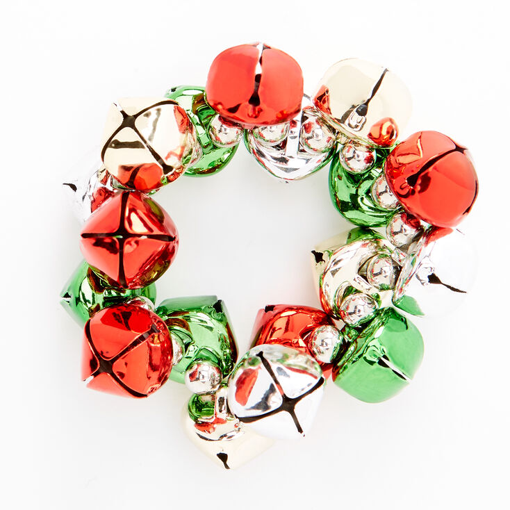 Holiday Jingle Bell Stretch Bracelet,