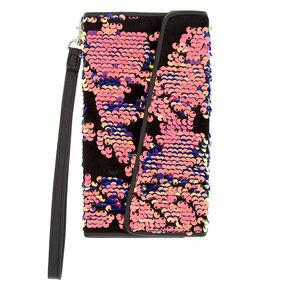 Velvet Reversible Sequin Folio Phone Case - Fits iPhone 6/7/8 Plus,