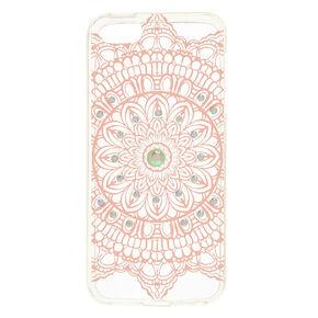 Pink Mandala Phone Case,