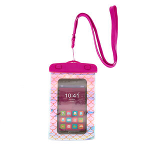 Mermaid Universal Splash Proof Phone Pouch - Purple,