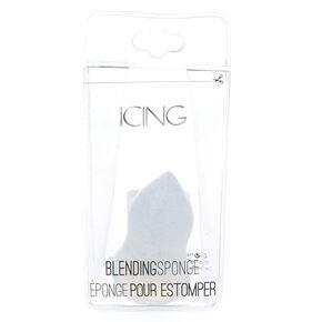 Silicone Glitter Blending Sponge - Silver,