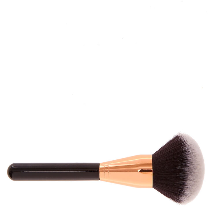 Black & Rose Gold Powder Makeup Brush,
