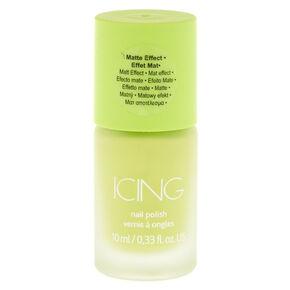 Green Matte Nail Polish,