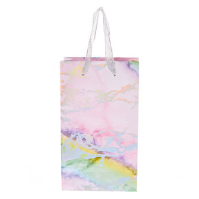 Rainbow Marbled Small Gift Bag,