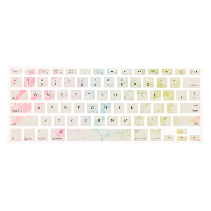 Pastel Rainbow MacBook® Silicone Keyboard Cover,