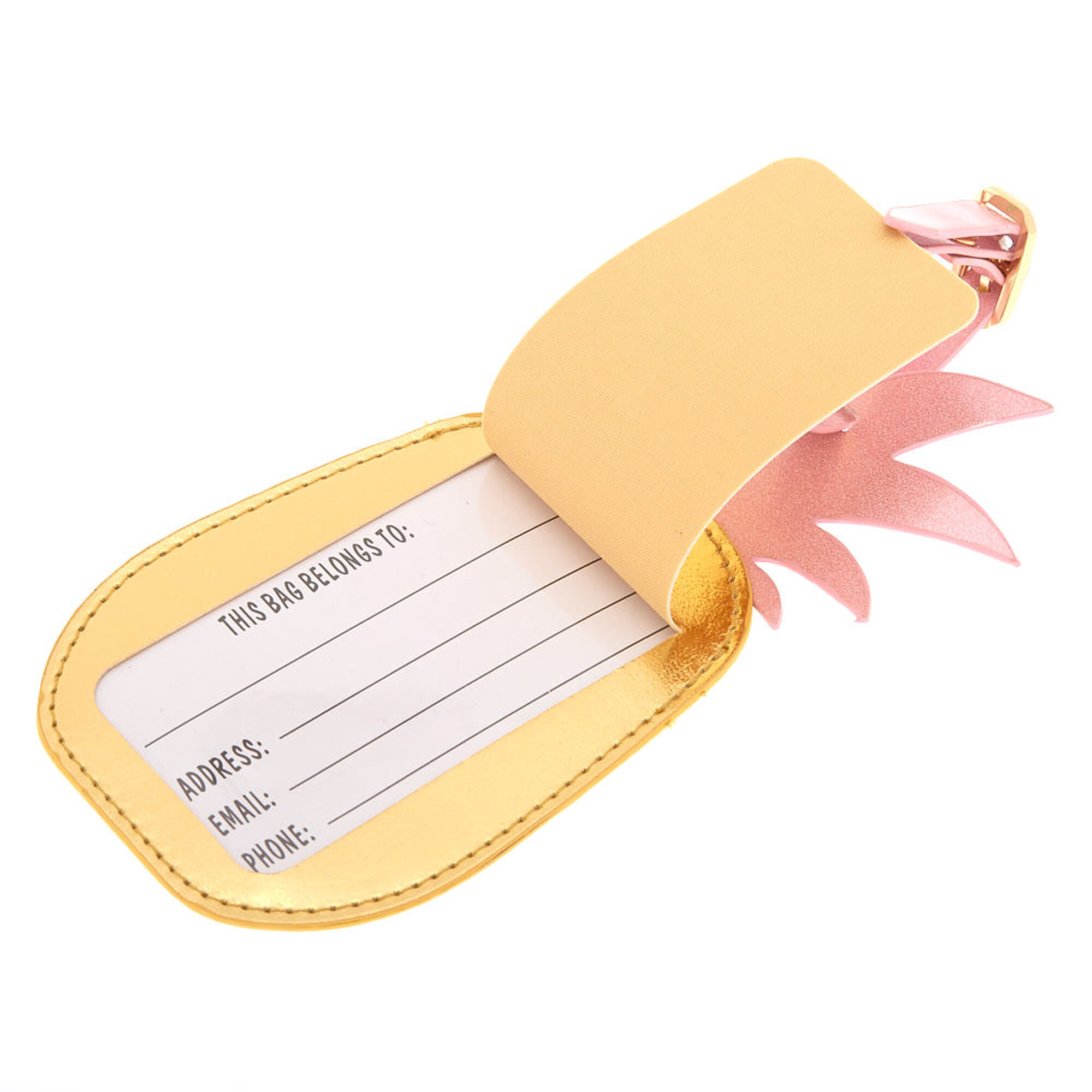 Vacay Mode Pineapple Luggage Tag